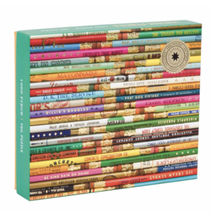 Chronicle Books Puzzle | 1000PC | Vintage Pencils