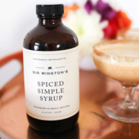 Statesman Beverage Co Simple Syrup | Sir Winston Spiced