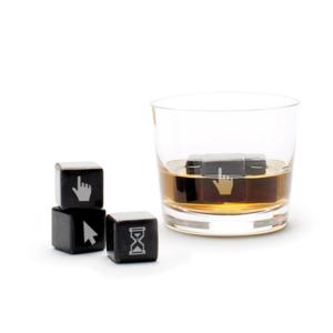 Teroforma Whisky Stones | Geeky