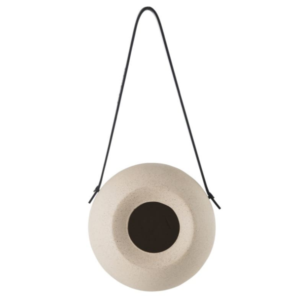 BIDK Home Bird Feeder | Lisa FeedR | Dusty Beige