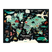 Chronicle Books Puzzle | 1000PC | Your World