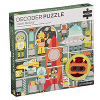 Petit Collage Puzzle | 100PC | Robot Factory