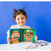 Chronicle Books Magnetic Play Set   Funny Faces
