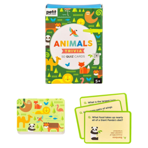 Petit Collage Trivia Cards | Animal