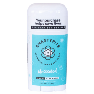 Smarty Pits Deodorant   Unscented
