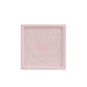 Soap Dish | Hello | Pink