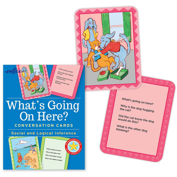 EEBOO Flashcards | What's Going On Here?