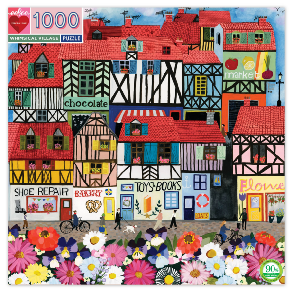 Puzzle | 1000pc | Whimsical Village