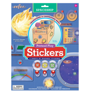 EEBOO Stickers | Pretend Play | Variety