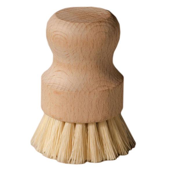 No Tox Life Dish Brush | White Teak & Agave Fiber