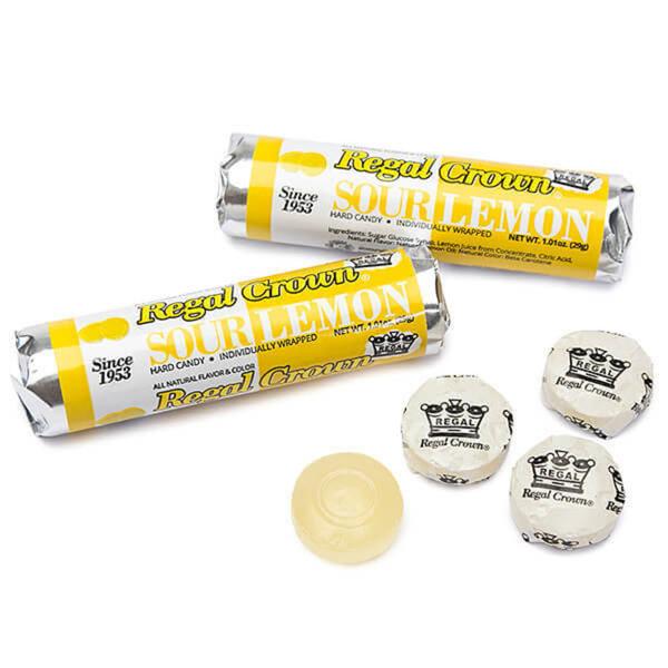 Nassau-Hobbs & Dobbs Candy | Regal Crown Sour Lemon
