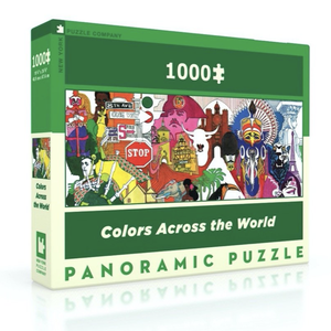 New York Puzzle Company Puzzle | 1000pc | Colors Across The World
