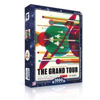 New York Puzzle Company Puzzle | 1000pc | Grand Tour