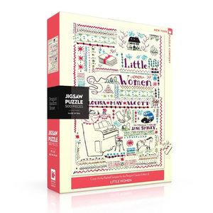New York Puzzle Company Puzzle | 500pc | Little Women