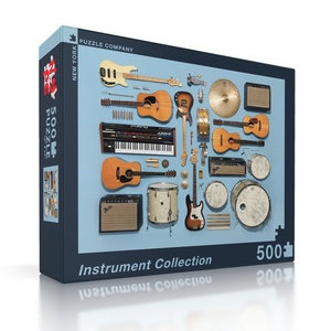 New York Puzzle Company Puzzle | 500pc | Instrument Collection