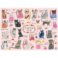 Puzzle   1000PC   Cool Cats A-Z