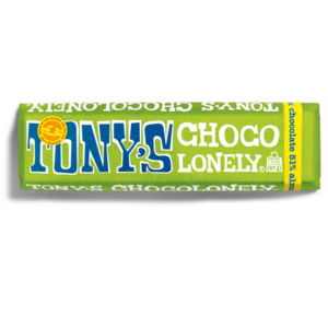 Tony's Chocoloney Inc Candy | Tonys Chocolate | Dark Almond Sea Salt 1.8oz