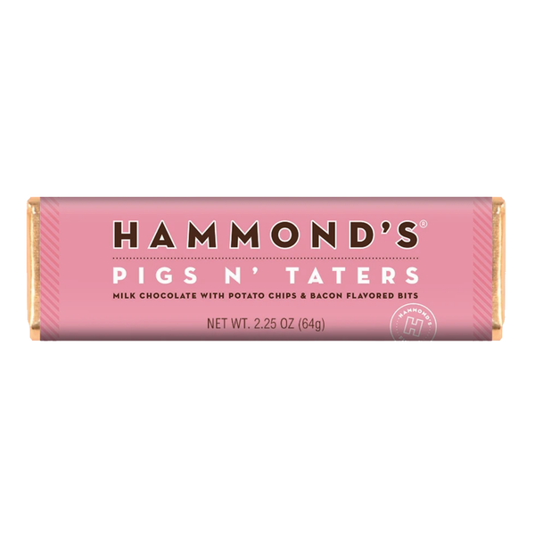 Hammond's Candy | Chocolate Bar | Pigs N' Taters
