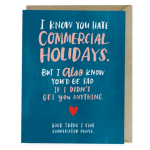 Emily McDowell Card | Commercial Holidays