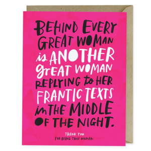 Emily McDowell Card | Every Great Woman