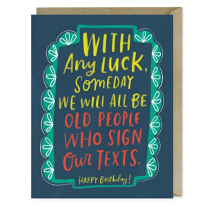Emily McDowell Card | Sign Texts