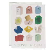 Red Cap Cards Card | Gem Buddies