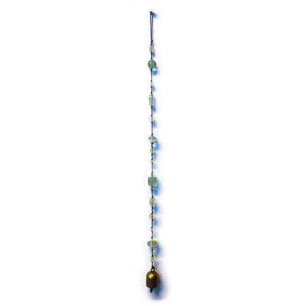 Moksha Imports Chime | Glass Beads | Clear Vision