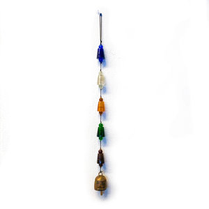 Moksha Imports Chime | Glass Beads | Cone Shaped