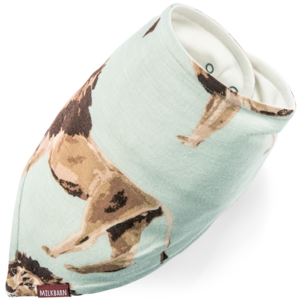 MilkBarn Baby Kerchief Bibs | Organic