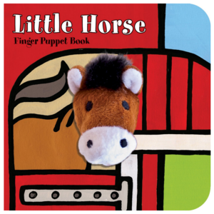 Chronicle Books Board Book | Finger Puppet | Little Horse