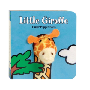 Chronicle Books Board Book | Finger Puppet | Little Giraffe