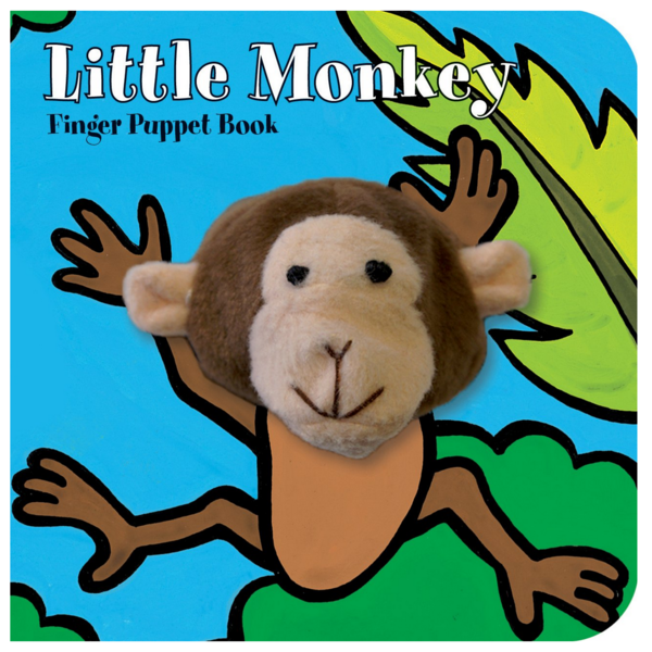 The Curbside Chronicle Board Book | Finger Puppet | Little Monkey