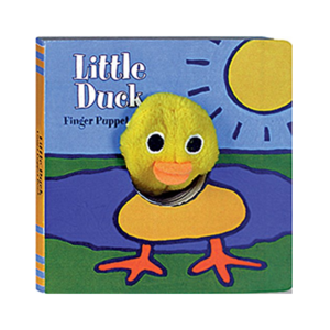 Chronicle Books Board Book | Finger Puppet | Little Duck