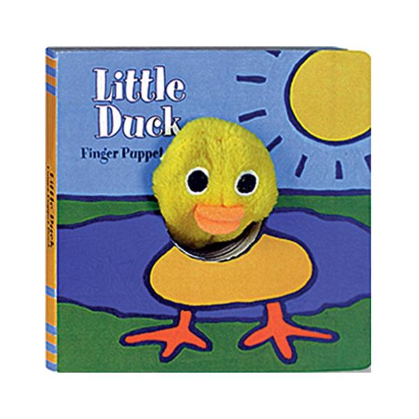 Chronicle Books Board Book   Finger Puppet   Little Duck