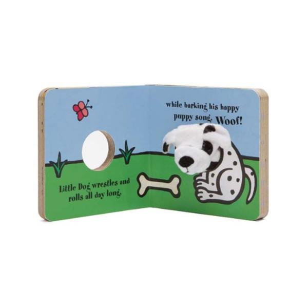 Chronicle Books Board Book | Finger Puppet | Little Dog