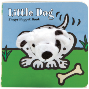 Chronicle Books Board Book | Finger Puppet | Little Dog