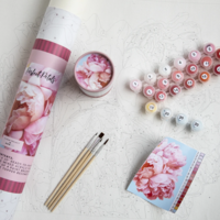 Pink Picasso Kit | Paint By Numbers