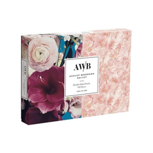 Chronicle Books Puzzle | 500PC 2-Sided | AWB Floral