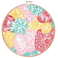Studio MME Embroidery Kit | Floral Profusion