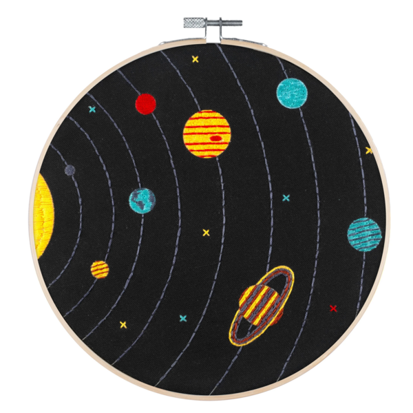 Studio MME Embroidery Kit | Solar System