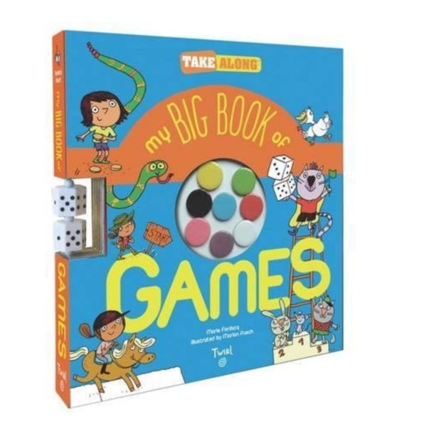 Chronicle Books Book | My Big Book Of Games