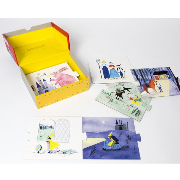 Chronicle Books Puzzle Story   Story Box Fairy Tales