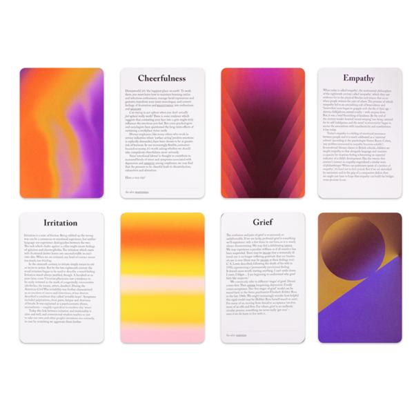 Card Set   Box of Emotions