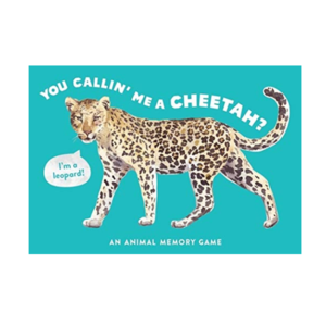 Chronicle Books Memory Game | You Calling Me A Cheetah?