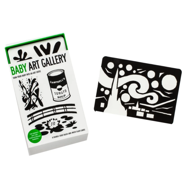 Chronicle Books Flash Cards | Baby Art Gallery