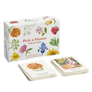 Chronicle Books Memory Game | Pick A Flower
