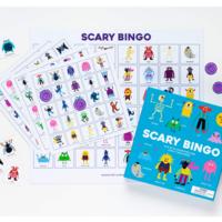 Chronicle Books Game | Scary Bingo