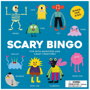 Chronicle Books Game | Scary Bingo