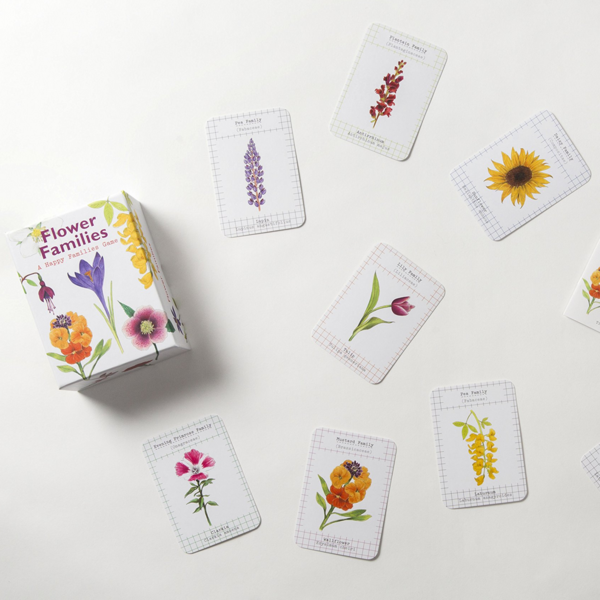 Game | Go Fish | Flower Families