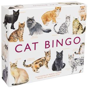 Chronicle Books Game   Cat Bingo